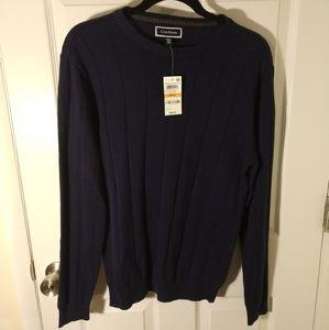 Navy Club Room Sweater - Men's Small